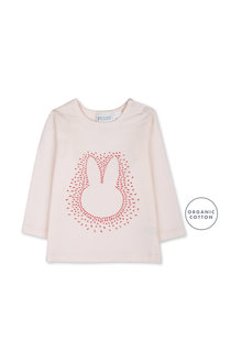 Pumpkin Patch Bunny Face Long Sleeve Tee