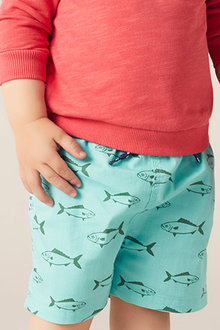Pumpkin Patch Fish Boardshort
