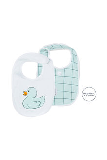 Pumpkin Patch Duck Geo Cube Bib