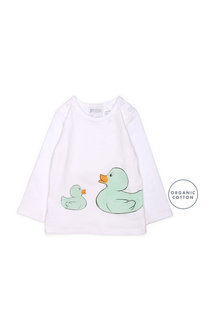 Pumpkin Patch Duck Long Sleeve Tee