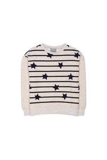 9571aaf3226e Pumpkin Patch Stars and Stripes Long Sleeve Sweat