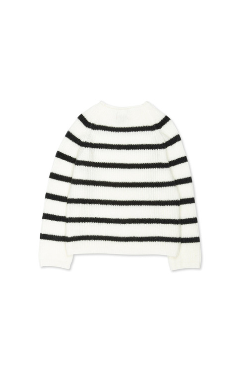Pumpkin Patch Nautical Stripe Knit Jumper