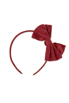Pumpkin Patch Fabric Bow Headband - 216542