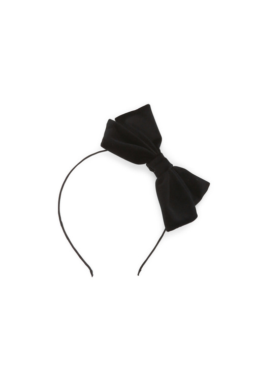 Pumpkin Patch Sleek Velvet Bow Headband