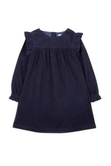 Pumpkin Patch Cord Ruffle Dress - 216578