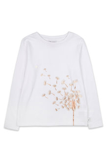Pumpkin Patch Dandelion Long Sleeve Tee