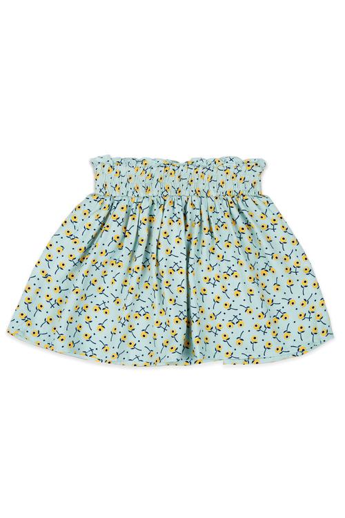 Pumpkin Patch Shirred Waist Skirt
