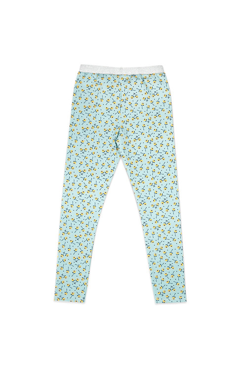 Pumpkin Patch Disty Floral Legging