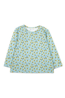 Pumpkin Patch Disty Floral Long Sleeve Tee