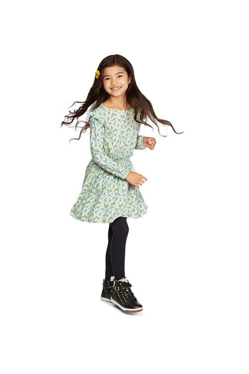 Pumpkin Patch Shirred Waist Dress