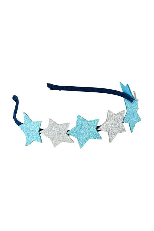 Pumpkin Patch Glitter Star Headband