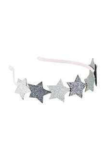Pumpkin Patch Glitter Star Headband