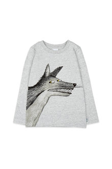 Pumpkin Patch Mr Wolf Long Sleeve Tee