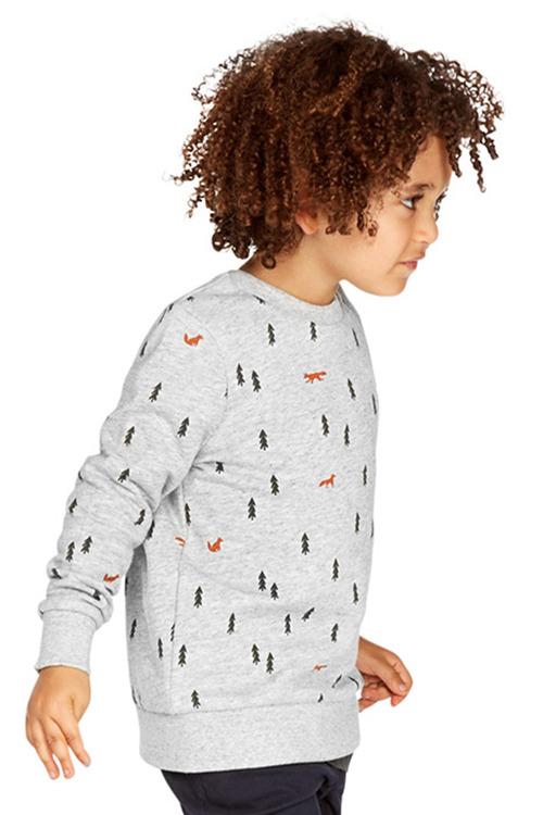 Pumpkin Patch Fox Sweater