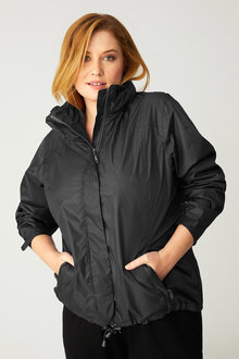 Plus Size - Isobar Plus Lightweight Waterproof Jacket - 216694