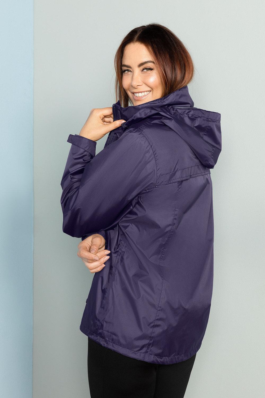 5204adc23e1 Plus Size - Isobar Plus Lightweight Waterproof Jacket