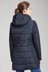 Isobar Outdoors Longline Quilted Puffer Jacket