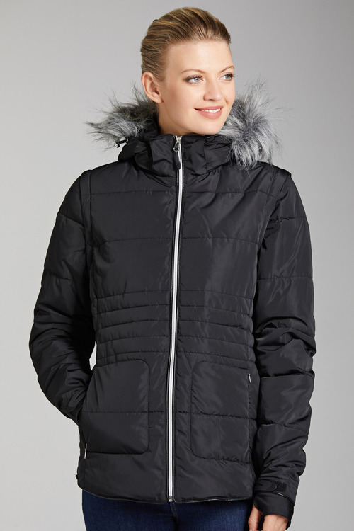 Isobar Outdoors Convertible Quilted Jacket