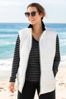 Plus Size - Isobar Plus Convertible Quilted Jacket