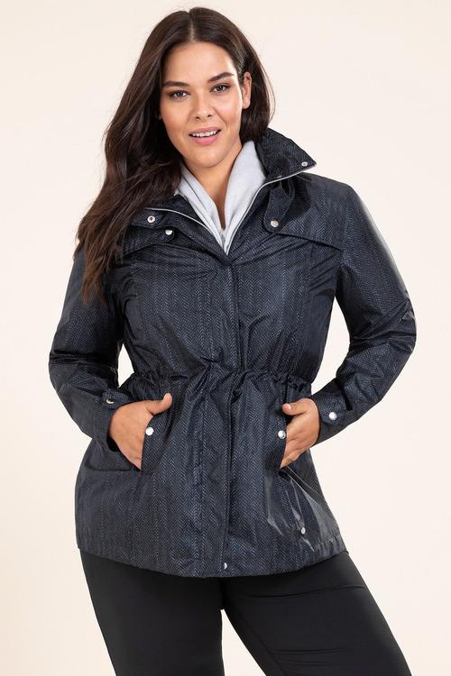 Isobar Plus Longline Lightweight Waterproof Jacket