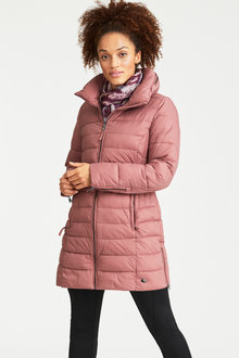 Isobar Outdoors Longline Puffer Quilted Coat - 216715