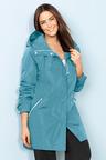 Plus Size - Isobar Plus Longline Waterproof Jacket