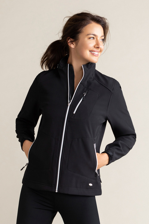 Isobar Outdoors Sporty Soft Shell Jacket