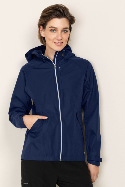 Isobar Outdoors Textured Waterproof Jacket