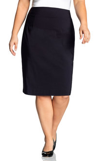 Plus Size - Sara Bengaline Skirt - 216729