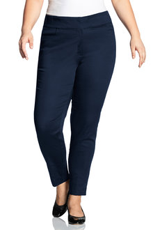 Sara Cotton Sateen Stretch Pant - 216733