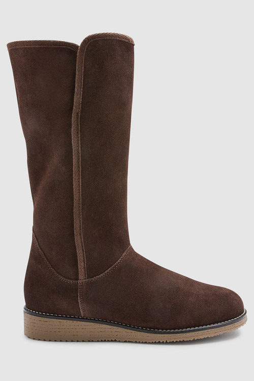 Next Forever Comfort Crepe Sole Knee High Boot