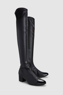 Next Low Block Over The Knee Boots