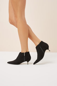 Next Kitten Heel Ankle Boots
