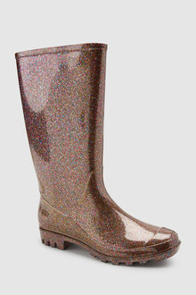 Next Glitter Wellington Boots