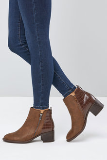 Next Ankle Zip Boots