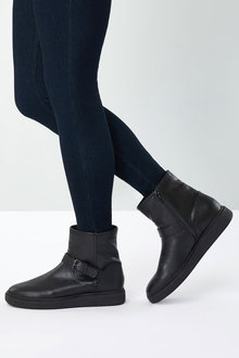Next Crepe Sole Ankle Boots