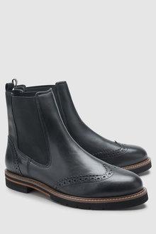 Next Signature Comfort Chunky Chelsea Boot