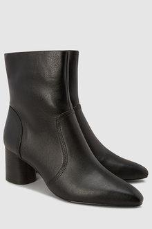 Next Cylinder Heel Boots