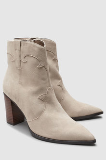 Next Western Ankle Boots