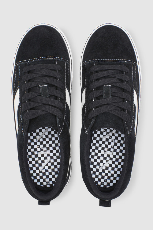 Next Suede Lace-Up Trainers