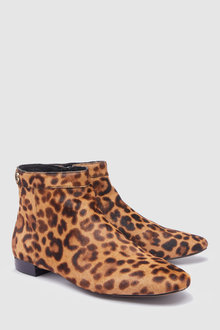 Next Heritage Square Toe Flat Ankle Boots