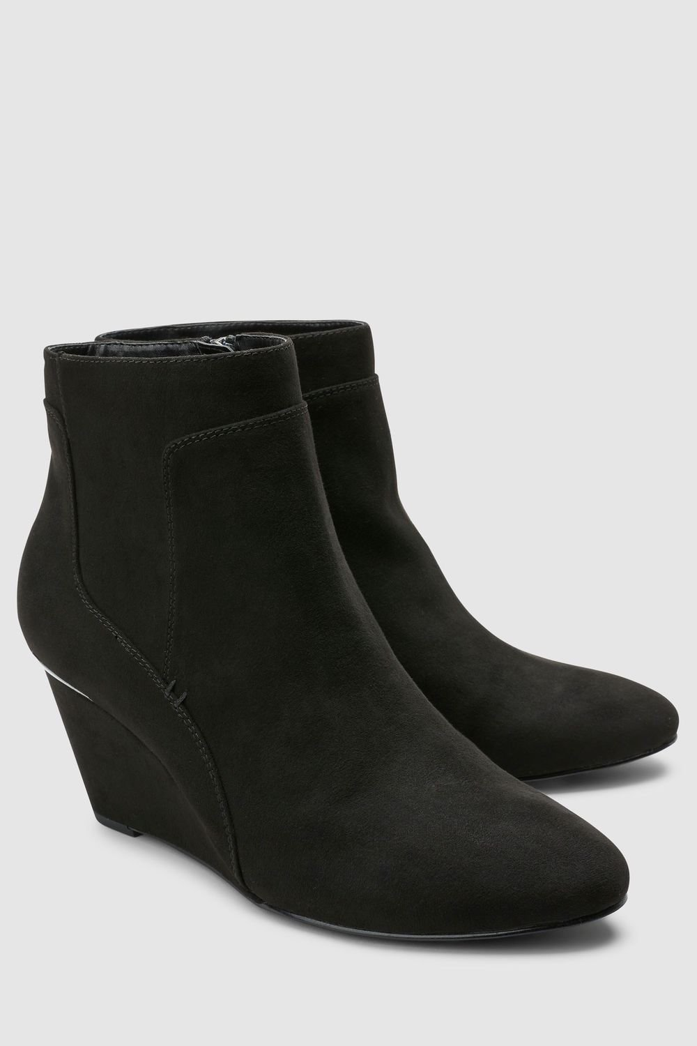 df0ac9e6695aa0 Next Forever Comfort Wedge Ankle Boots Online