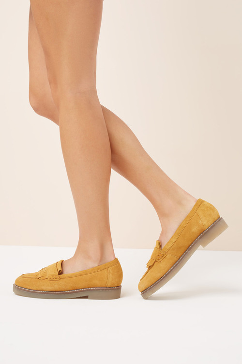 Next Fringe Loafers With Crepe Sole
