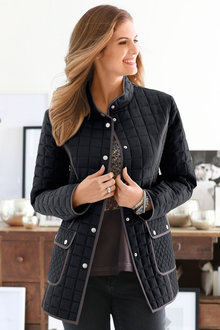 Euro Edit Quilted Jacket - 216924