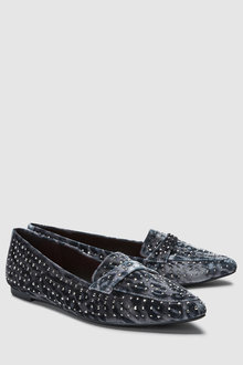 Next Sparkle Point Loafers