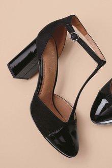 Next T-Bar Block Heels