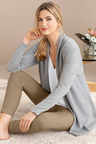 Grace Hill Cashmere Blend Longline Cardigan