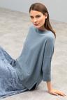 Grace Hill Cashmere Blend High Neck Sweater