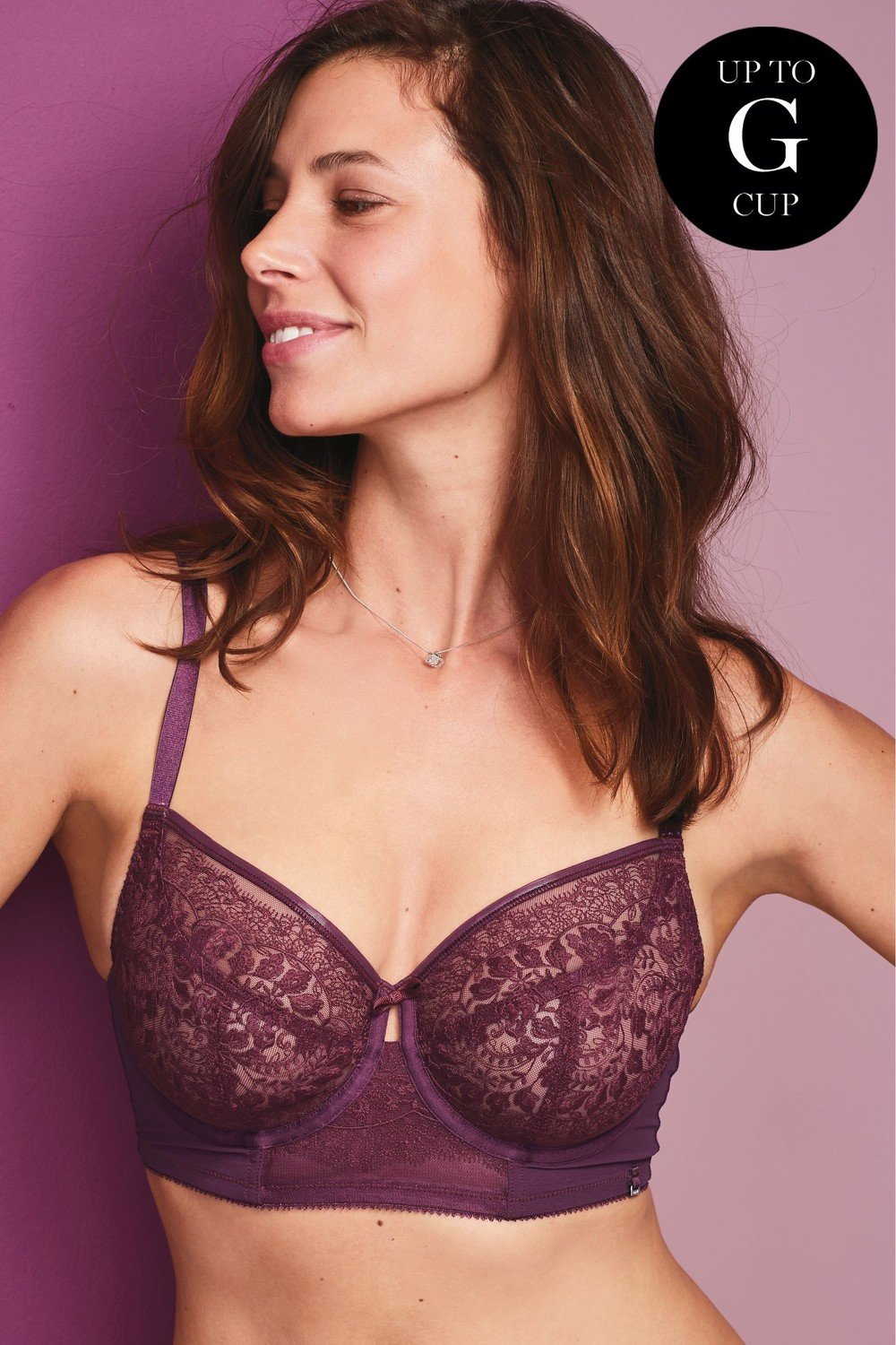 93ae404f6 Next DD+ Lizzie Embroidered Non Padded Balcony Bra Online