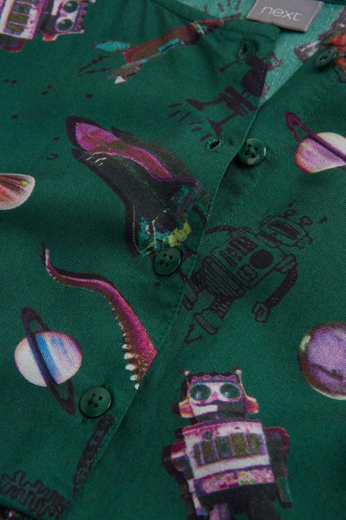 Next Dinosaur Printed Dress (3-16yrs)